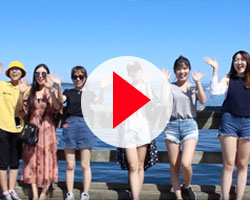 Video thumbnail of ELC Students by the ocean.