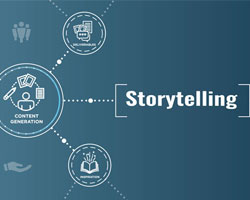 Graphic of Storytelling