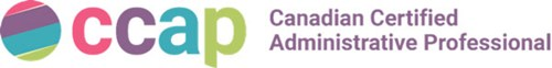 Logo of CCAP - Canadian Certified Administrative Professionals.