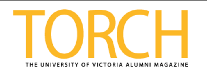 Logo of UVic Alumni Torch magazine