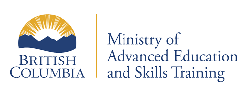 Ministry of Advanced Education, Skills and Training logo