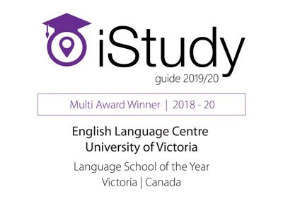 Graphic of the iStudy 2019 award.
